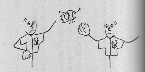 素粒子のキャッチボール